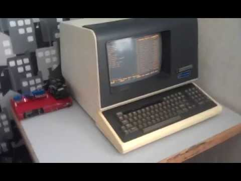 VT-100 terminal Rasperry Pi control and audio system