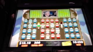 Airplane Slot Machine Bonus - $15 bet with a Handpay