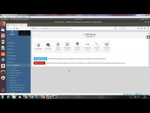 Webmin SSH