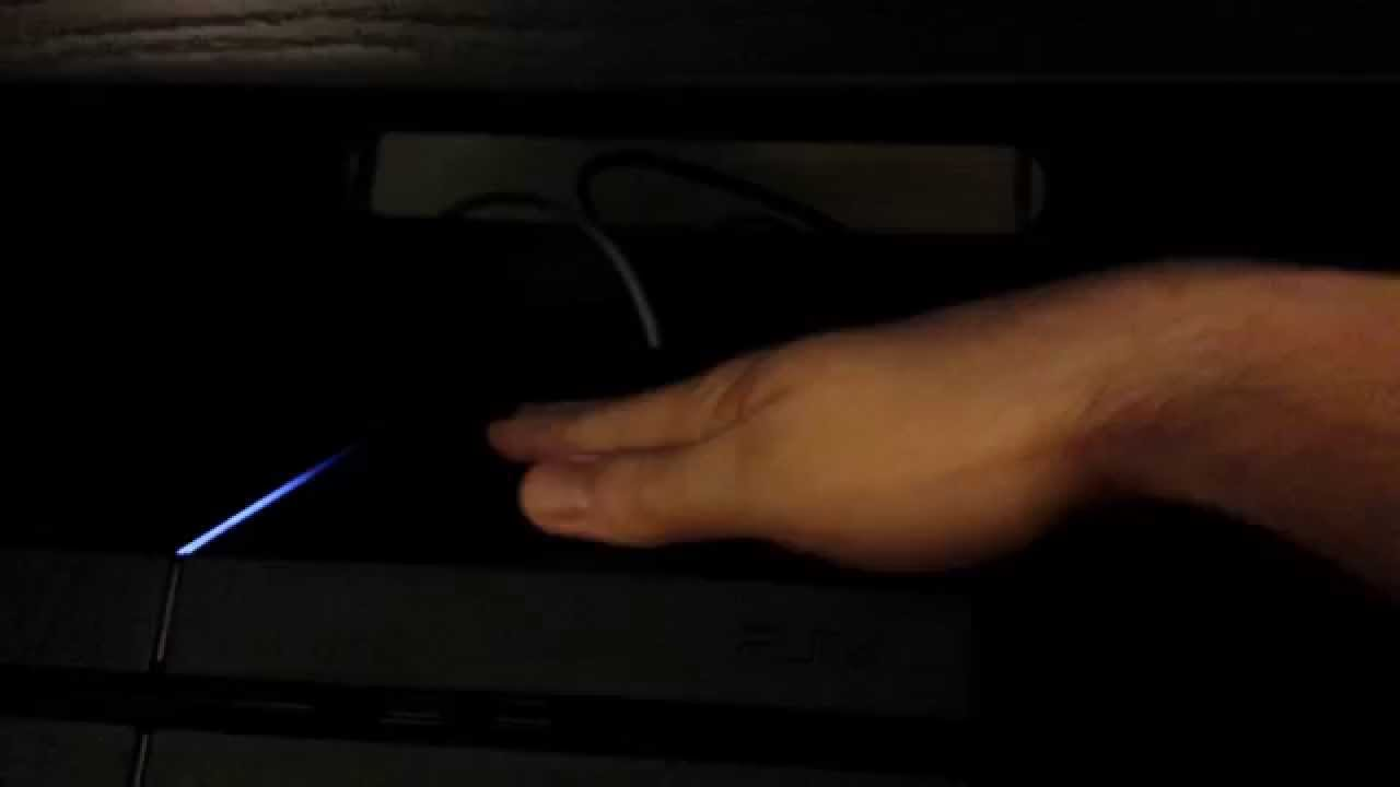 PS4 fan makes an odd grinding noise