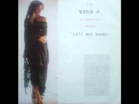 Lisa G. - Call My Name