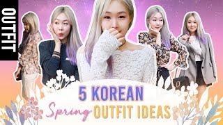 5 KOREAN SPRING OUTFIT IDEAS