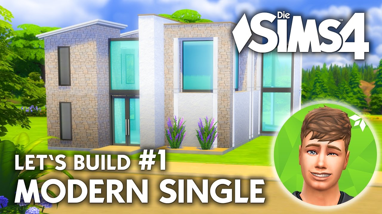 Die Sims 4 Haus Bauen | Modern Single #1   Letu0027s Build (deutsch)   YouTube