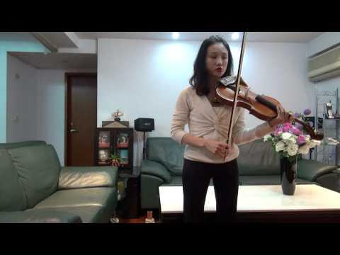 馮楚軒教授小提琴講座(2) 長弓教學 (agnesfeng.tw@yahoo.com.tw)