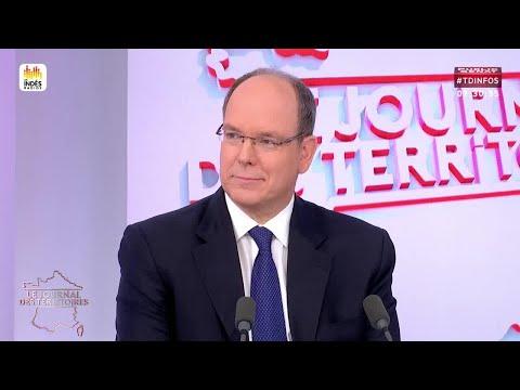 Invité : Prince Albert II de Monaco - Le journal des territo