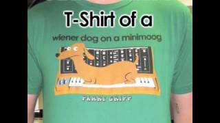 Watch Parry Gripp Tshirt Of A Wiener Dog On A Minimoog video
