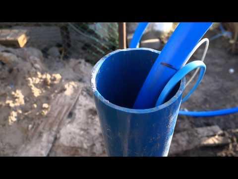 Установка глубинного насоса в скважину самостоятельно.Что для этого необходимо