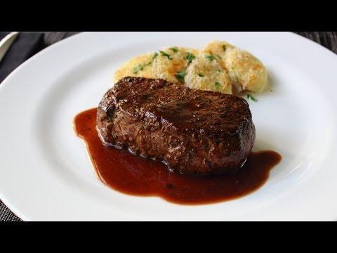 The Manhattan Filet Steak - How to Turn a NY Strip into a Filet Mignon