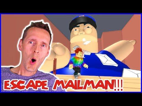 Escape Mad Mailman in Roblox Ob