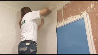 How to: apply wallpaper around your door frame