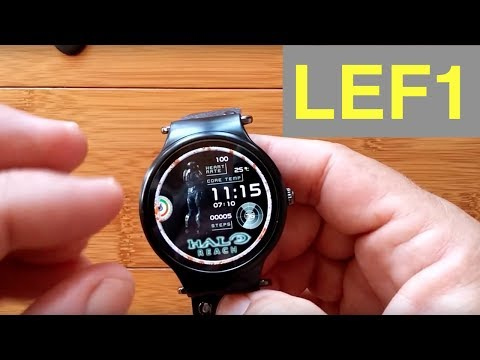 LEMFO LEF1 Smartwatch: Unboxing and Review