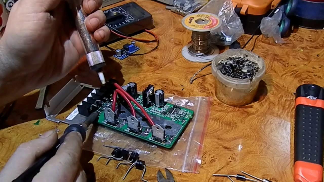 схема контроллер для ветрогенератор