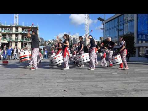 Batala Play Southampton Music in the city