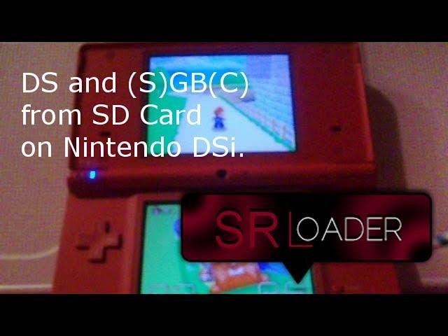 SRLoader - TWLoader for DSi Released & New Homebrew Exploit