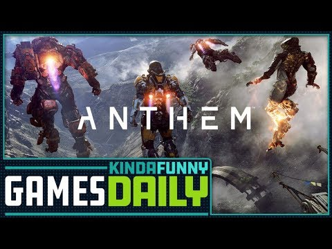 Anthem To Be Story Focused - Kinda Funny Games Daily 04.17.18