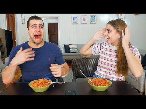 Spicy Noodle PRANK on Boyfriend! SHE GOT REVENGE!