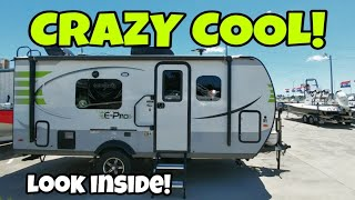 Super Compact and Cool E-Pro Travel Trailer!