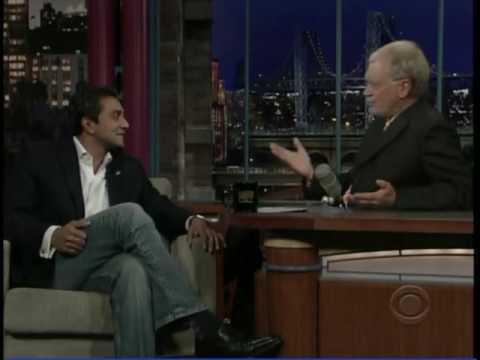 Nature Conservancy Lead Scientist M.A. Sanjayan on David Letterman