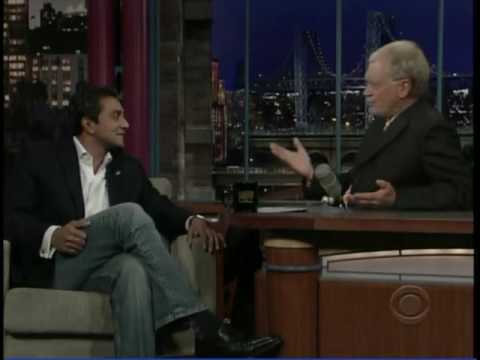 Nature Conservancy Lead Scientist MA Sanjayan on David Letterman