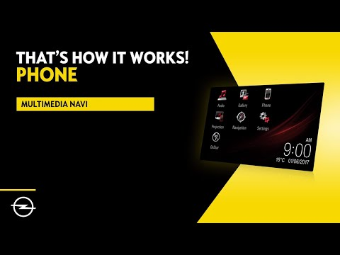 Multimedia Navi - Insignia    Phone   That's  How It Works!   Opel Infotainment