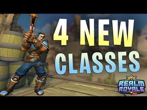 Paladins Realm Royale NEW CLASSES! (Paladins Battlegrounds)