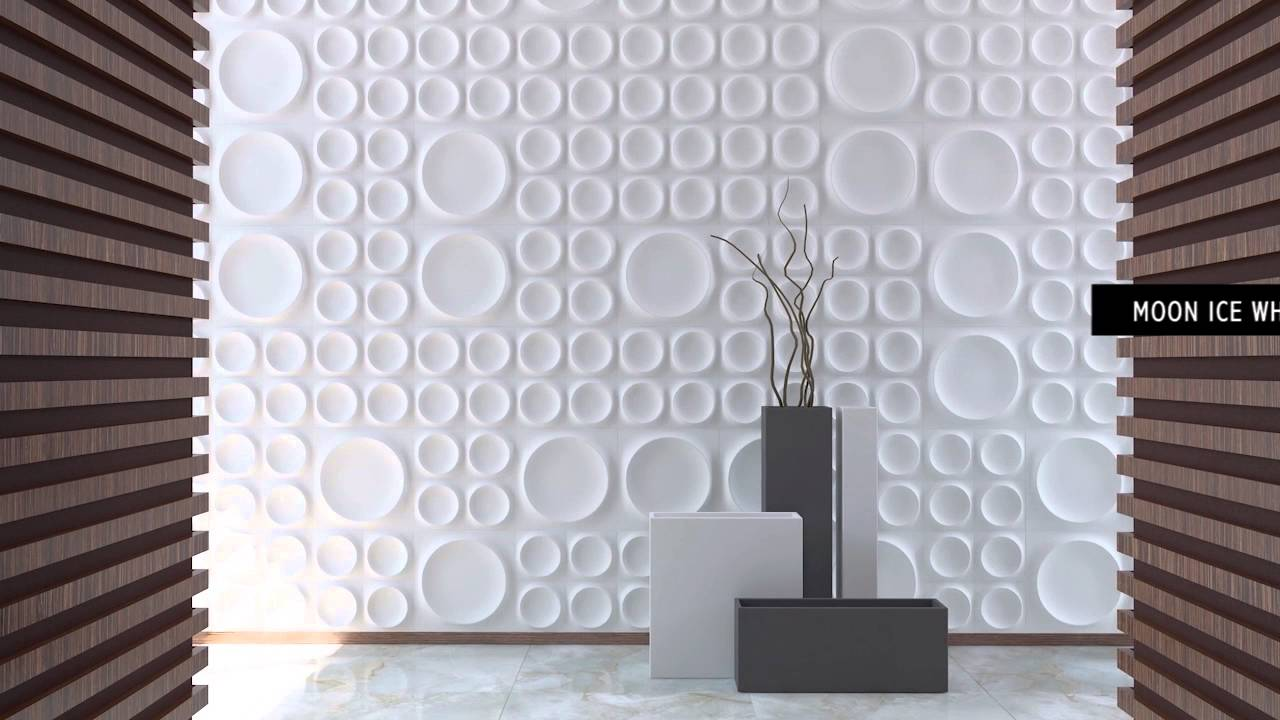 Paredes 3d cer micos wow youtube for Papel decorativo para pared