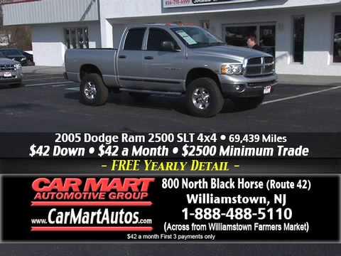"""$2500 Minimum Trade Event"" Car Mart, Williamstown NJ"