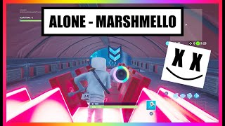 ALONE - Marshmello (Fortnite Music Blocks with Creative Code!)