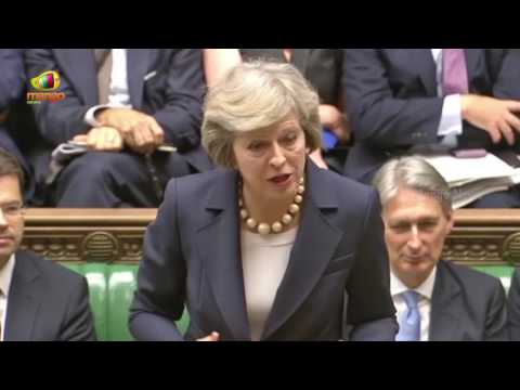 Britain PM Theresa May Teases Labour MP Corbyn Over Job Insecurity | Unscrupulous Boss | Mango News