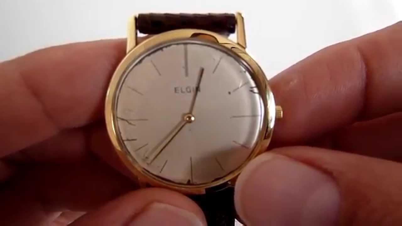 A la venta reloj elgin vintage para caballero caja de for Reloj de pared vintage 60cm