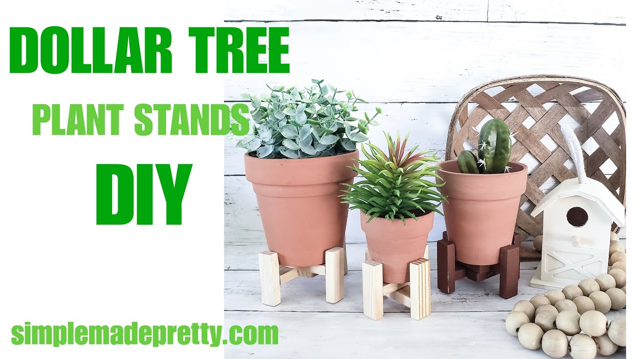 Dollar Tree Plant Stand