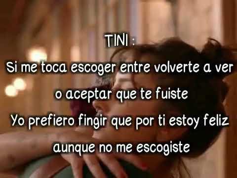 Consejo de amor - Tini ft Morat -Letra/Lyrics oficial