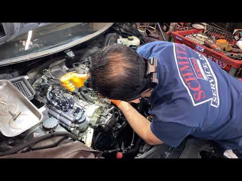 2011 Benz R350 Bluetec rough running diagnosis and repair part 3