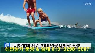 시화호 거북섬 인공서핑장 YTN뉴스 영상