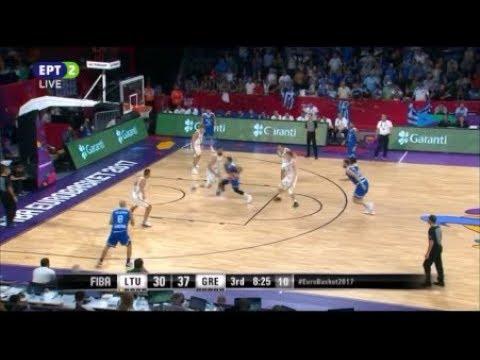 Λιθουανία - Ελλάδα 64-77 /Eurobasket 2017 Φάση των ''16'' - Στιγμιότυπα {9-9-2017}