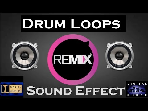 Sound Effects for Remix  | Drum Loops  |...