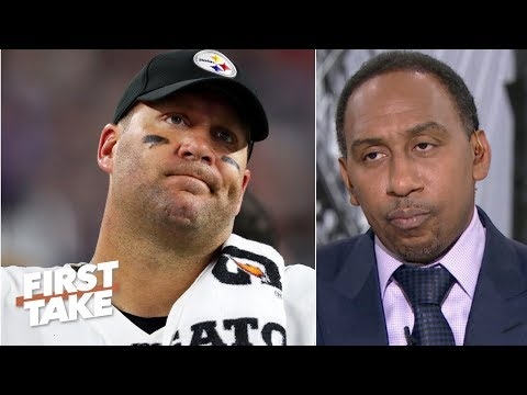 Stephen A. reacts to Ben Roethlisberger injury news: It's over for the Steelers | First Take
