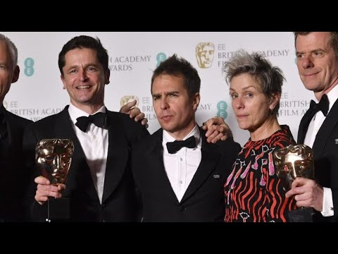 'Three Billboards' tops Baftas as 'Time's Up' campaign shares st
