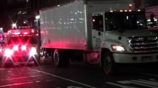 New York City Police Department Emergency Services Unit Responding w/ Rumbler