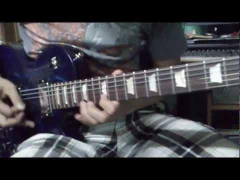 guitar heavy lick metal