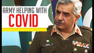 Army In Every Corner Of Pakistan To Help With COVID-19| Interpreted In Sign Language for Deaf People