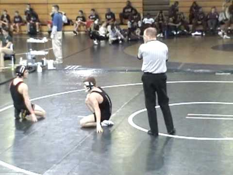 Sean Ford wrestling at Collins Hill