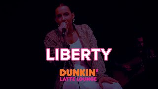 Liberty Performs At The Dunkin Latte Lounge