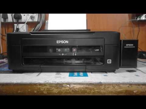 Epson L220 Printer Servis Eror Youtube