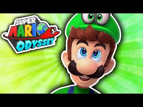how to get luigi in super mario odyssey