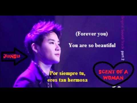 Scent  of a woman OST  you are so beautiful (Xiah Junsu ) sub español - lyris)