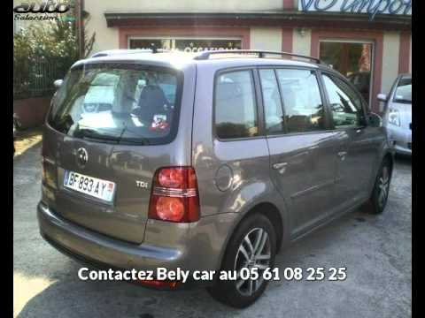 volkswagen touran 7 places occasion visible venerque pr sent e par bely car youtube. Black Bedroom Furniture Sets. Home Design Ideas
