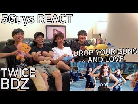 [ONCE FANBOYS] TWICE - BDZ (5Guys MV REACT)