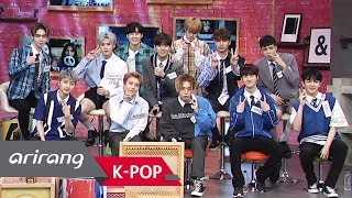 The 10 boys of PENTAGON have slipped off their seriousness and equi...