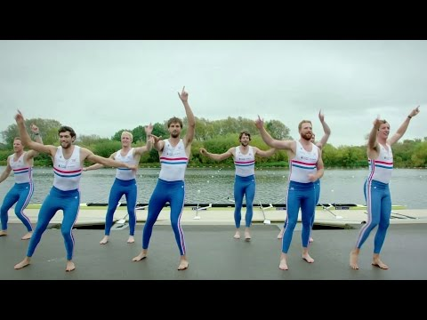 GB Rowing Team and airline crew Do The Strictly – Strictly Come Dancing: It Takes Two 2015 – BBC Two